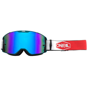 O'Neal B-20 Goggles Plain teal/red-radium blue
